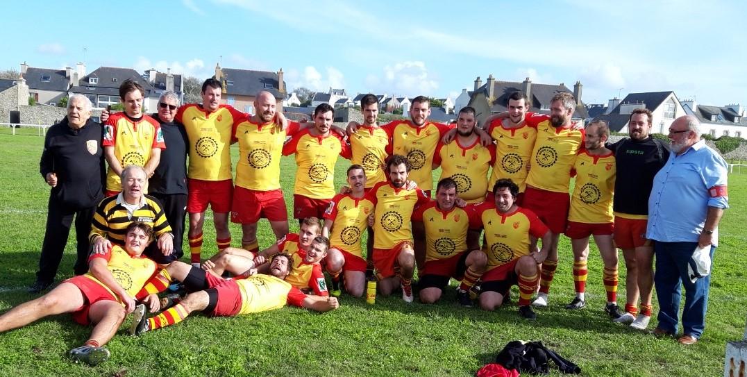 Equipe fin de match